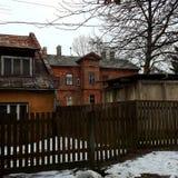 Casas viejas Imágenes de archivo libres de regalías