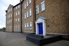 Casas viejas de Londres en 3area de embarque Imágenes de archivo libres de regalías