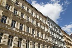 Casas viejas en Berlín Foto de archivo libre de regalías