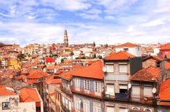 Casas viejas en Oporto, Portugal Fotos de archivo libres de regalías