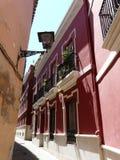 Casas viejas en Sevilla, España Fotografía de archivo libre de regalías