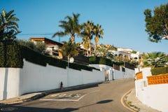 Casas vivas brancas Fotos de Stock