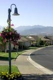 Casas - vizinhança Fotografia de Stock Royalty Free