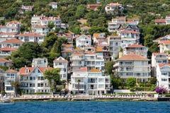 Casas y hoteles en Islands de los príncipes Turquía Fotografía de archivo
