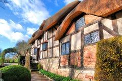 Casas y jardines de Shakespeare Foto de archivo