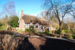 Casas y jardines de Shakespeare Fotografía de archivo libre de regalías