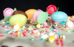 Casatiello甜点版本 库存图片