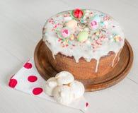 Casatiello甜点版本 图库摄影