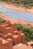 casbah μαροκινή όψη Στοκ Φωτογραφία