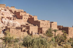 The Casbah of Ait Benhaddou Royalty Free Stock Photography