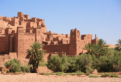 Casbah Ait Benhaddou, Morocco Stock Photography
