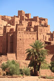 Casbah Ait Benhaddou, Morocco. The fortified town of Ait ben Haddou near Ouarzazate on the edge of the sahara desert in Morocco. Taken as dawn broke. Famous for Royalty Free Stock Photography