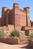 Casbah Ait Benhaddou, Morocco. The fortified town of Ait ben Haddou near Ouarzazate on the edge of the sahara desert in Morocco. Taken as dawn broke. Famous for Stock Photography