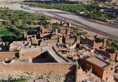 Casbah d'Ait Ben Haddou, Maroc Image libre de droits