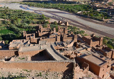 Casbah de Ait Ben Haddou, Marrocos Imagem de Stock Royalty Free