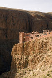 Casbah in the Gorges de Dades stock image