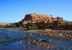 Casbah marocchino tradizionale Fotografia Stock