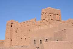Casbah in Ouarzazate, Morocco Royalty Free Stock Image