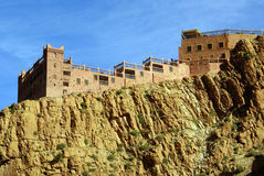 Casbah on the rock Royalty Free Stock Photo