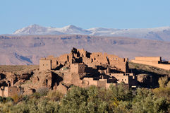 Casbah Ruin in Morocco Royalty Free Stock Photography