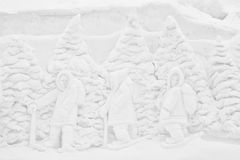 Casca 2012 Jacques Cartier, PC do parque de Winterlude Imagens de Stock