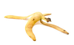 Casca da banana Foto de Stock Royalty Free
