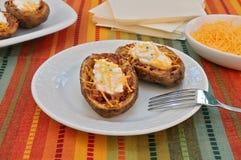 Casca de batata cozida Imagem de Stock Royalty Free