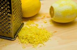Casca de limão Imagens de Stock