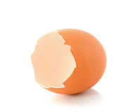 Casca de ovo quebrada Foto de Stock Royalty Free