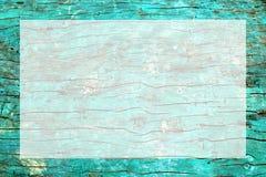 Casca do fim ciano da superfície áspera da árvore acima do quadro foto de stock
