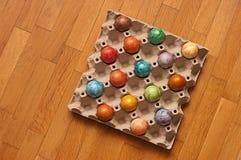 Casca dos ovos da páscoa Imagens de Stock