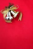 Cascabeleo Bell con la cinta Fotos de archivo libres de regalías