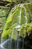 Cascada única hermosa de Bigar en Rumania imagen de archivo
