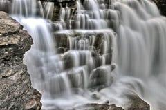 Cascada Alberta Canadá de Athabasca Imágenes de archivo libres de regalías