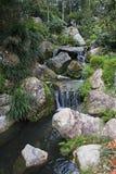 Cascada artificial Foto de archivo libre de regalías