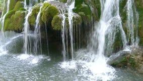 Cascada Bigar, Rumania 6 almacen de video