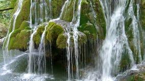 Cascada Bigar, Rumania 8 almacen de metraje de vídeo
