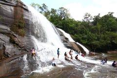 Cascada Bungkan Tailandia de 'Chet Si' Fotos de archivo libres de regalías