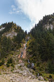 Cascada Cailor/Horses Waterfall 4. Horses Waterfall is the tallest waterfall in Romania with a total height of 80 m (262 ft) split over several steps, the Royalty Free Stock Photography