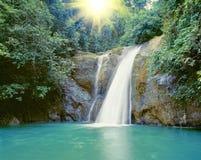 Cascada cerca de Iligan Fotografía de archivo