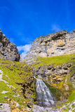 Cascada Cola de Caballo at Ordesa Valley Pyrenees Spain Royalty Free Stock Photography
