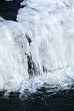 Cascada congelada Foto de archivo libre de regalías
