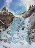 Cascada congelada Fotografía de archivo