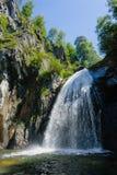 Cascada Corbu Fotografía de archivo