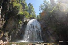 Cascada Corbu Foto de archivo libre de regalías