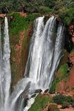 Cascada D Ouzoud de la cascada, protegido por la UNESCO marruecos imágenes de archivo libres de regalías