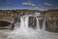 Cascada de Aldeyjarfoss Fotos de archivo