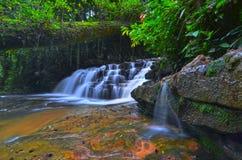 Cascada de Batu Hampar en Pahang, Malasia Imagen de archivo