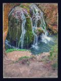 Cascada de Bigar fotografía de archivo
