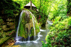 Cascada de Bigar, Rumania Fotos de archivo